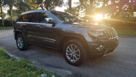 2015 Jeep Grand Cherokee for sale at DELRAY AUTO MALL in Delray Beach FL