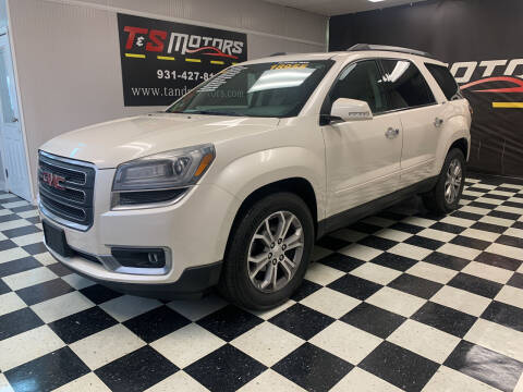 2014 GMC Acadia for sale at T & S Motors in Ardmore TN