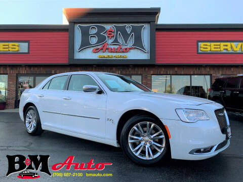 2016 Chrysler 300 for sale at B & M Auto Sales Inc. in Oak Forest IL