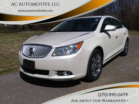 2012 Buick LaCrosse for sale at AC AUTOMOTIVE LLC in Hopkinsville KY