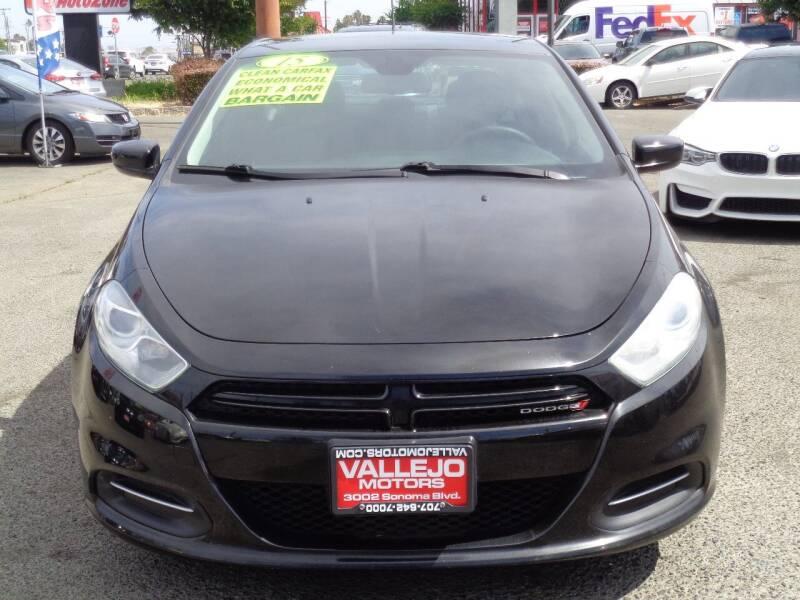 2015 Dodge Dart for sale at Vallejo Motors in Vallejo CA
