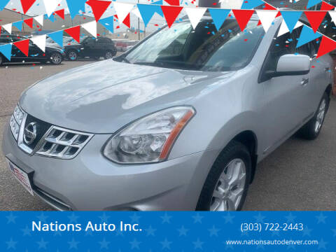 2011 Nissan Rogue for sale at Nations Auto Inc. in Denver CO