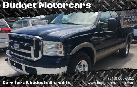 2005 Ford F-250 Super Duty for sale at Budget Motorcars in Tampa FL