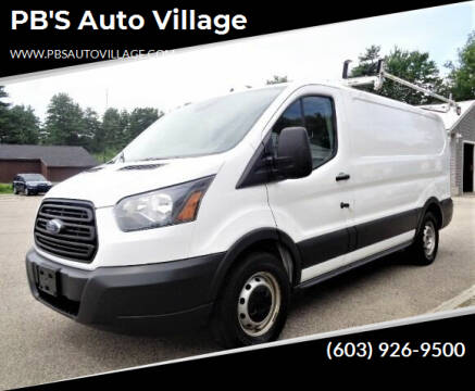 2016 Ford Transit Cargo for sale at PB'S Auto Village in Hampton Falls NH