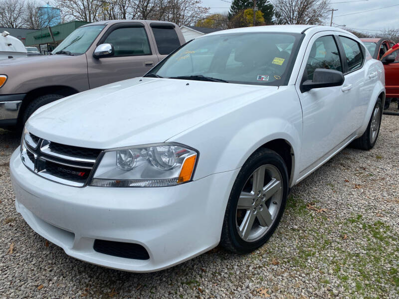 2013 Dodge Avenger for sale at GREENLIGHT AUTO SALES in Akron OH
