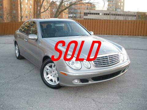2004 Mercedes-Benz E-Class for sale at Autobahn Motors USA in Kansas City MO