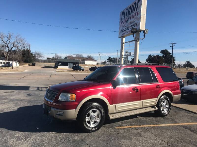 2006 Ford Expedition for sale at Patriot Auto Sales in Lawton OK
