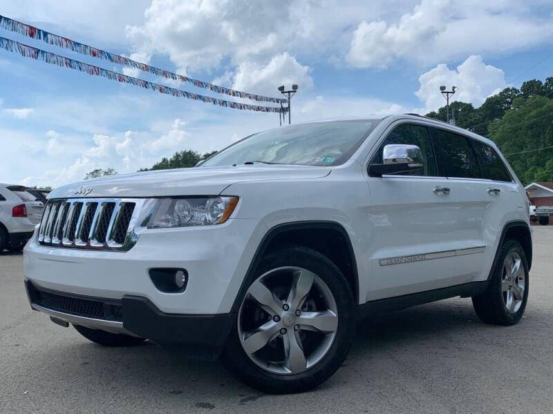 2013 Jeep Grand Cherokee for sale at Elite Motors in Uniontown PA