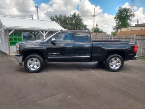 2014 Chevrolet Silverado 1500 for sale at Auto Pro Inc in Fort Wayne IN