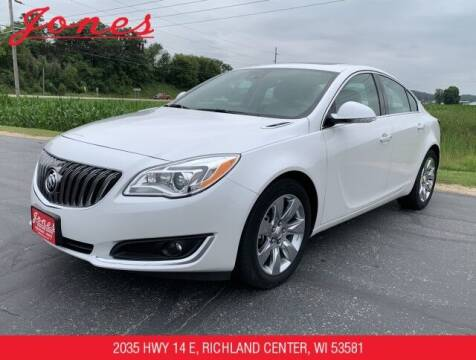 2017 Buick Regal for sale at Jones Chevrolet Buick Cadillac in Richland Center WI