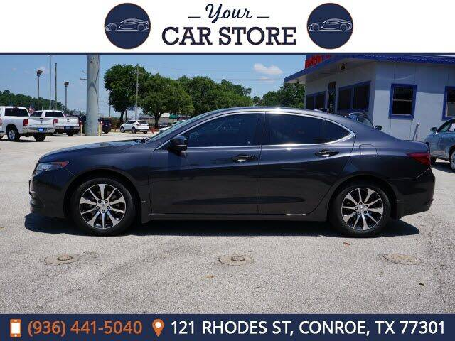 2015 Acura TLX for sale at Your Car Store in Conroe TX