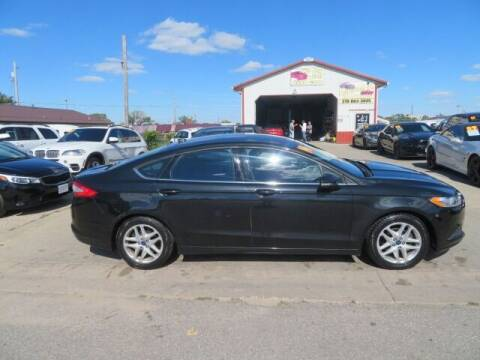 2014 Ford Fusion for sale at Jefferson St Motors in Waterloo IA