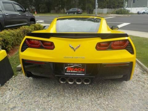 2015 Chevrolet Corvette for sale at Beach Auto Brokers in Norfolk VA