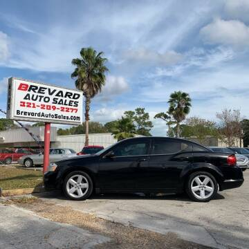2013 Dodge Avenger for sale at Brevard Auto Sales in Palm Bay FL