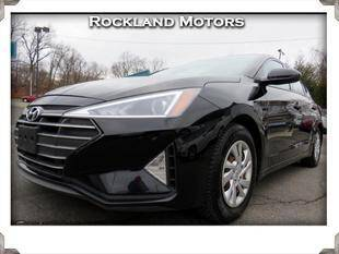 2019 Hyundai Elantra for sale at Rockland Automall - Rockland Motors in West Nyack NY