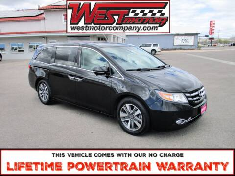 2014 Honda Odyssey for sale at West Motor Company in Preston ID
