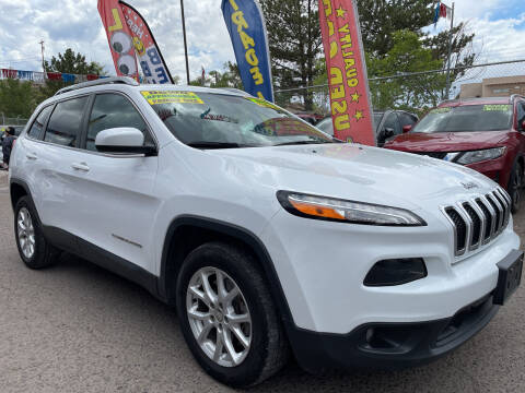 2018 Jeep Cherokee for sale at Duke City Auto LLC in Gallup NM