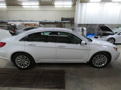 2012 Chrysler 200 for sale at Alpha Auto - Mitchell in Mitchel SD