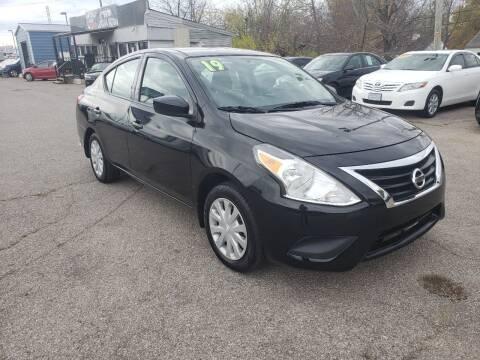 2019 Nissan Versa for sale at LexTown Motors in Lexington KY