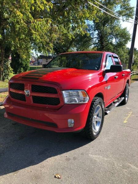 2014 RAM Ram Pickup 1500 for sale at Jimmys Auto Sales in North Providence RI