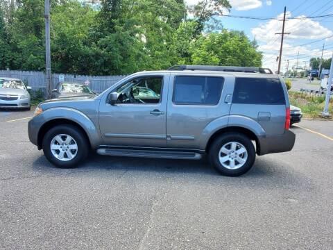 2008 Nissan Pathfinder for sale at CANDOR INC in Toms River NJ