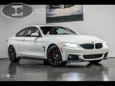2016 BMW 4 Series for sale at Iconic Coach in San Diego CA