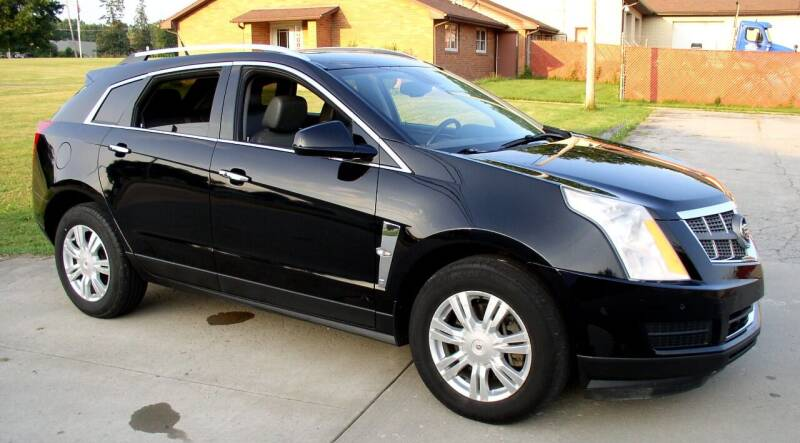 2011 Cadillac SRX for sale at Angelo's Auto Sales in Lowellville OH