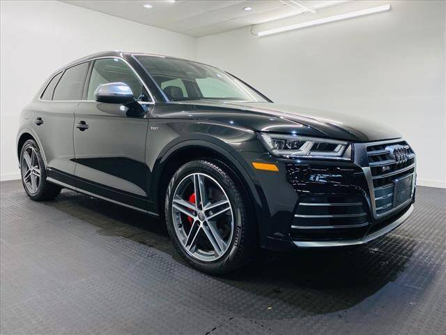 2018 Audi SQ5 for sale at Champagne Motor Car Company in Willimantic CT