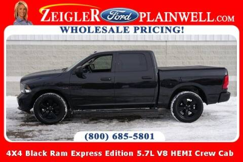 2017 RAM Ram Pickup 1500 for sale at Zeigler Ford of Plainwell- Jeff Bishop in Plainwell MI