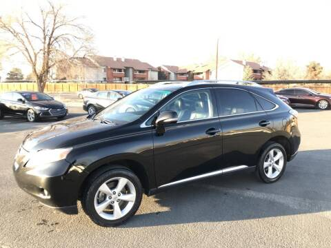 2010 Lexus RX 350 for sale at INVICTUS MOTOR COMPANY in West Valley City UT