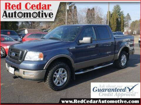 2004 Ford F-150 for sale at Red Cedar Automotive in Menomonie WI