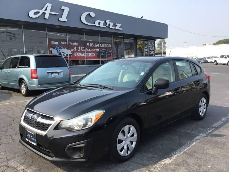 2012 Subaru Impreza for sale at A1 Carz, Inc in Sacramento CA