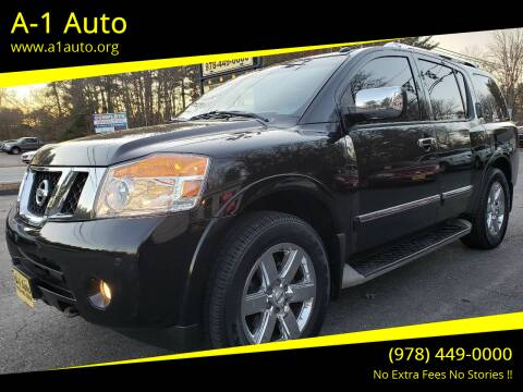 2012 Nissan Armada for sale at A-1 Auto in Pepperell MA