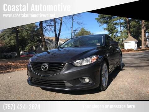 2014 Mazda MAZDA6 for sale at Coastal Automotive in Virginia Beach VA