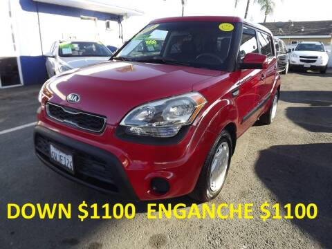 2013 Kia Soul for sale at PACIFICO AUTO SALES in Santa Ana CA