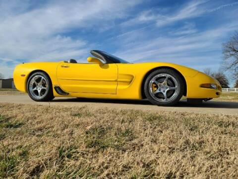 2001 Chevrolet Corvette for sale at Classic Car Deals in Cadillac MI
