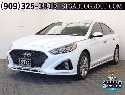 2018 Hyundai Sonata for sale at STG Auto Group in Montclair CA