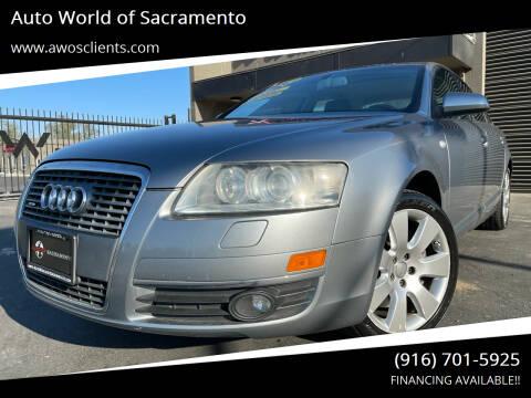 2007 Audi A6 for sale at Auto World of Sacramento Stockton Blvd in Sacramento CA