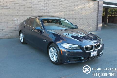 2014 BMW 5 Series for sale at Galaxy Autosport in Sacramento CA
