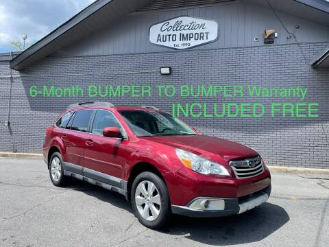 2012 Subaru Outback for sale at Collection Auto Import in Charlotte NC