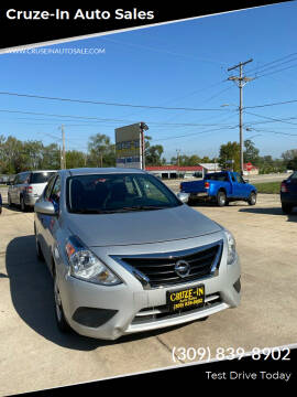 2018 Nissan Versa for sale at Cruze-In Auto Sales in East Peoria IL