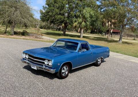 1965 Chevrolet El Camino for sale at P J'S AUTO WORLD-CLASSICS in Clearwater FL