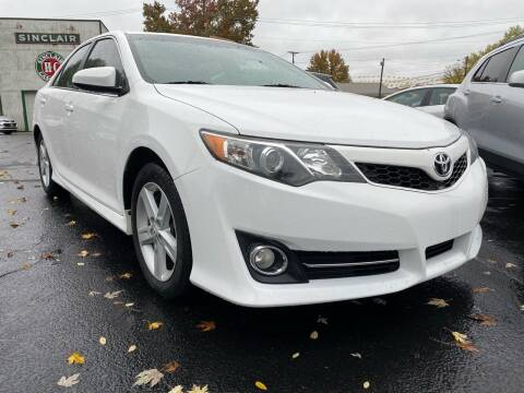 2012 Toyota Camry for sale at Auto Exchange in The Plains OH