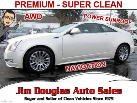 2012 Cadillac CTS for sale at Jim Douglas Auto Sales in Pontiac MI