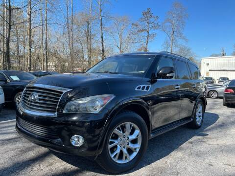 2013 Infiniti QX56 for sale at Car Online in Roswell GA