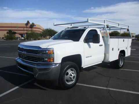 2015 Chevrolet Silverado 3500HD for sale at Corporate Auto Wholesale in Phoenix AZ
