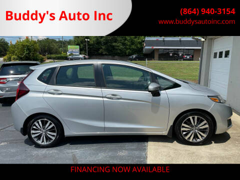 2015 Honda Fit for sale at Buddy's Auto Inc in Pendleton, SC