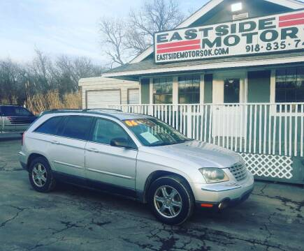 2004 Chrysler Pacifica for sale at EASTSIDE MOTORS in Tulsa OK