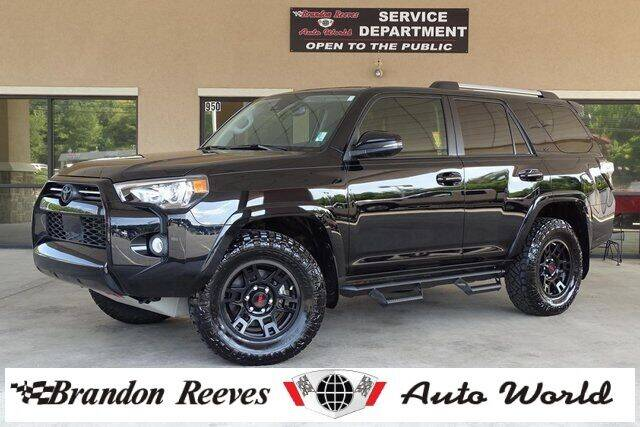 2020 Toyota 4Runner for sale at Brandon Reeves Auto World in Monroe NC