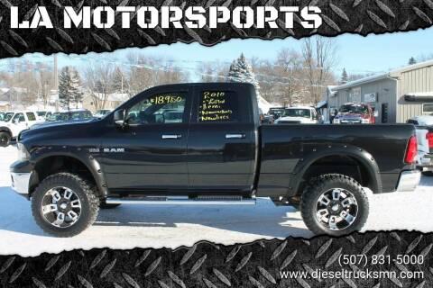 2010 Dodge Ram Pickup 1500 for sale at LA MOTORSPORTS in Windom MN